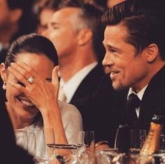 Imagen de Angelina Jolie, brad pitt, and love