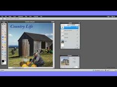 This is the first part of a simple tutorial on how to use the layer tool when editing digital images.