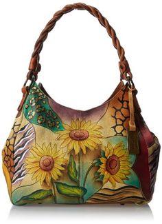 Anuschka 533 Shoulder Bag,Sunflower Safari,One Size Anuschka http://www.amazon.com/dp/B00HX0CPWQ/ref=cm_sw_r_pi_dp_pE7vub18RM0TZ