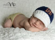 Detroit Tigers Newborn Cap.....Newborn Photo Prop...Newborn Boy Baseball Cap.......Hand Knit Detroit Tigers Baby Cap ... Baby Knit Sport Hat