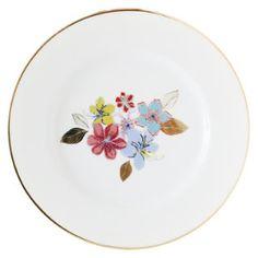 Plato postre flores 21 cm, Decoración, Comedor, Vajilla a granel, Z-026, Juliana Lopez May, Falabella Argentina