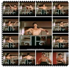 #brucelee Check out my Bruce Lee quotes and photos - https://www.facebook.com/bruceleephotos Let's face it, one of the most awe inspiring things about Bruce Lee's body were his back muscles. They were thick, striated, and cut.