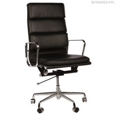 The Matt Blatt Replica Eames Group Aluminium Chair - Standard by Charles and Ray Eames - Matt Blatt Furniture Removalists, Furniture Design, Black Office Chair, Office Chairs, Restoration Hardware Chair, Charles & Ray Eames, Executive Chair, Commercial Furniture, Decor Styles