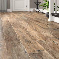 tile flooring Emser Tile Legacy 8 x 47 Porcelain Wood Look Tile Wood Look Tile Floor, Wood Tile Floors, Kitchen Flooring, Wood Floor Colors, Ceramic Flooring, Wood Grain Tile, Faux Wood Tiles, Rustic Wood Floors, Farmhouse Flooring