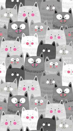 iphone wallpaper cat Papis de parede de gatinhos fofos para whatsapp e celular Wallpaper Gatos, Cat Wallpaper, Mobile Wallpaper, Wallpaper Backgrounds, Purple Wallpaper Phone, Leaves Wallpaper, Laptop Wallpaper, Iphone Backgrounds, Animal Wallpaper