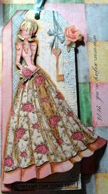 Paper ink and Glue: Splicing Prima Dolls Megan with Lorrena's skirt - nice!