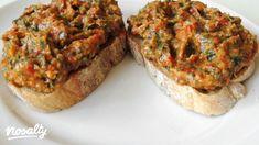 Avokádókrém kápia paprikával | Nosalty Meatloaf, Salmon Burgers, Ethnic Recipes, Food, Red Peppers, Essen, Meals, Yemek, Eten