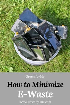 What is e-waste and why is it a problem? Click through to learn more - and how you can reduce and minimize your own e-waste. #ewaste #zerowaste #ecofriendly Reduce Waste, Zero Waste, Waste Solutions, Recycling Process, Natural Cleaners, Lifestyle Group, Minimalist Living, Natural Products, Sustainable Living