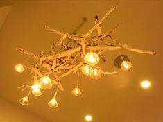 画像 : 『流木をつかった照明』のアイディア集  [リノベーション] - NAVER まとめ Driftwood, Chandelier, Ceiling Lights, Home Decor, Candelabra, Decoration Home, Room Decor, Chandeliers, Outdoor Ceiling Lights