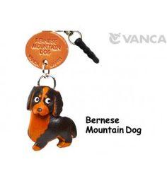 Bernese Mountain Leather Dog Earphone Jack Accessory