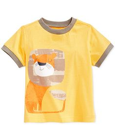 First Impressions Baby Boys' Lion Ringer Tee - Kids - Macy's