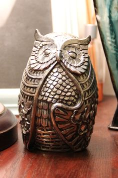 persephone. A place to buy and sell gently used home decor! This owl is only $5!