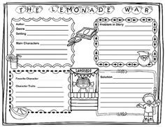 the lemonade war unit plan and activity guide over 100 pages