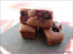 Le lutrin dans ma cuisine: MINI LINGOTS FINANCIERS CHOCOLAT FRUITS ROUGES