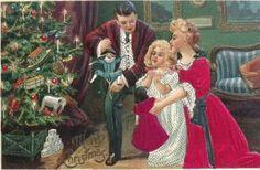 Polichinelo de Natal, Famíia, Presentes árvore