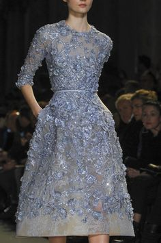Elie Saab at Couture Spring 2013 - Details Runway Photos