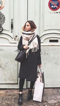 #street #style / layers + scarf
