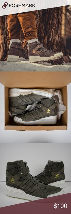 new style e652a c0884 Adidas Forum HI Crafted Pack Men s Cleaning Kit BRAND-NEW - RARE pair plus  accessories