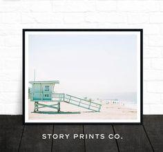 Beach Print strand Decor Wall Art fotoprints door StoryPrintsCo