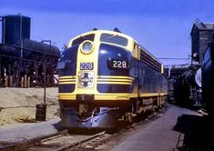 Santa Fe EMD Locomotives.