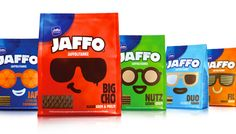 Packaging of the World: Creative Package Design Archive and Gallery: JAFFO Redesigned