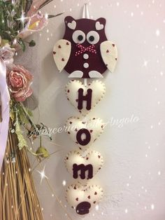 Cool Paper Crafts, Owl Crafts, Fabric Crafts, Sewing Crafts, Felt Animal Patterns, Dream Catcher Craft, Valentine Crafts For Kids, Christmas Embroidery, Sewing Projects For Beginners