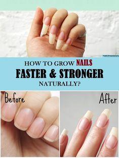 Nail Growth Faster, Nail Growth Tips, Grow Nails Faster, Make Nails Grow, Grow Long Nails, Hard Nails, Get Nails, Diy Long Nails, How To Cut Nails