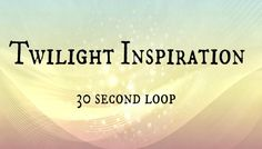 Twilight Inspiration has just been added to GameDev Market! Check it out: http://ift.tt/1U5PEfs #gamedev #indiedev