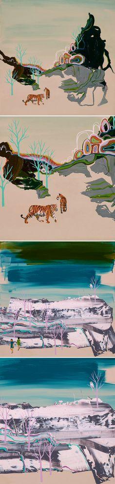 paintings by seonna hong