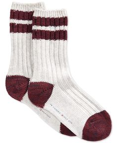 Tommy Hilfiger Women's Cabin Boot Crew Socks