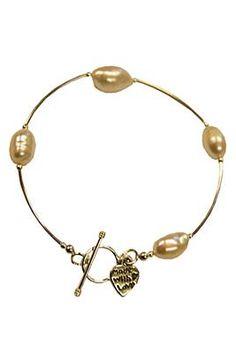 Rebecca Watson Designs Silver & Pearl Bracelet http://www.youngideasfashion.com/store/product/12096/Rebecca-Watson-Designs-Silver-%26-Pearl-Bracelet/