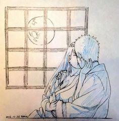 """comeplaywiththedevilbaby: """"Naruhina lovee 🌌 on We Heart It. Naruhina, Naruko Uzumaki, Neji E Tenten, Boruto And Sarada, Hinata Hyuga, Anime Naruto, Art Naruto, Naruto Comic, Naruto Funny"""