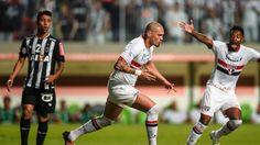 Marcos Rocha; Maicon; Atlético-MG; São Paulo (créditos: AP Photo/Juliana Flister)