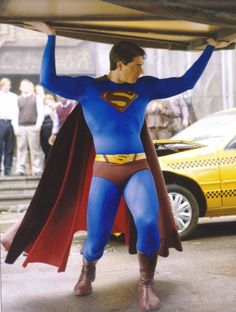 Brandon Routh in Superman Returns... we take the bad with the good.