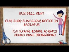 N.RANE ESTATE AGENCY - REAL ESTATE BROKER IN BADLAPUR