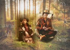 """(Left) Sebastian Stan as """"Jefferson/The Mad Hatter"""" on ABC's Once Upon A Time // (Right) Andrew-Lee Potts as """"Hatter"""" in Syfy's 2009 Miniseries Alice"""