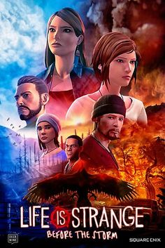 'Life is Strange - Before the Storm Cinematic Movie Poster' Photographic Print by Trey Anderson Life Is Strange Wallpaper, Life Is Strange Fanart, Life Is Strange 3, Everybody Lies, Chloe Price, Bd Comics, Best Games, Sell Your Art, Lisa