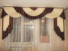 Swag Curtains, Curtains And Draperies, Elegant Curtains, Beautiful Curtains, Home Curtains, Modern Curtains, Hanging Curtains, Window Curtains, Curtain Valances