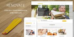 Renovate is a responsive and retina ready HTML Template best suitable for construction, renovation, remodeling or handyman business. The Template comes with Cost Calculator Tool – a quick and easy way to get cost estimates for construction or remodeling services. Tags: construction, renovation, remodeling, architect, architecture, building, company, constructor, contractor, corporate, electrician, handyman, industry, painter, plumber, repair, tiler, worker.