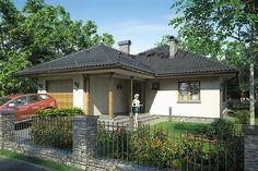 Projekt domu Tip Top 99,9 m2 - koszt budowy - EXTRADOM
