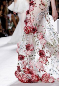 ANDREA JANKE Finest Accessories: A Wearable Garden by Giambattista Valli Fall 2013 Couture