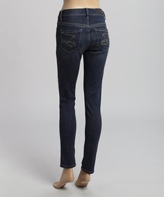 Take a look at this New Wave Curvy Skinny Jeans on zulily today!