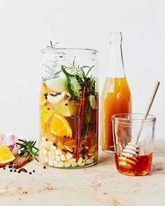 Fire Cider - a tangy, sweet vinegar infused with vegetables, herbs, spices, and honey. A popular herbal folk remedy, it is used as an anti-inflammatory and digestion-stimulating tonic, and to boost natural health processes.