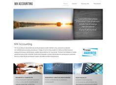 MH Accounting sai uudet kotisivut Kotisivukoneen Avaimet käteen -palvelun avulla.