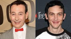 Paul Reubens and Robin Lord Taylor