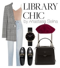 """Untitled #37"" by yesselina on Polyvore featuring Hanro, Yves Saint Laurent, Alexander Wang, Gucci, Fendi and CLUSE"