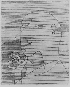 Old Man Counting by Paul Klee, Modern and Contemporary Art    Medium: Etching  Purchase, Reba and Dave Williams Gift, 1997 Metropolitan Museum of Art, New York, NY