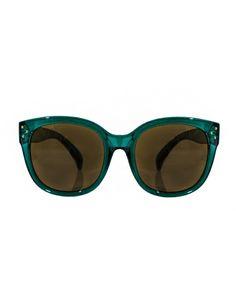 Emerald Green Sunglasses
