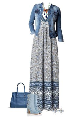 Spring Outfits Floral-Print Maxi Dress-- minus the boots though! Mode Outfits, Dress Outfits, Casual Outfits, Fashion Dresses, Maxi Dresses, Outfit Jeans, Floral Dresses, Dress Casual, Party Dresses