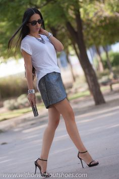 TULIP SKIRT | ! With Or Without Shoes